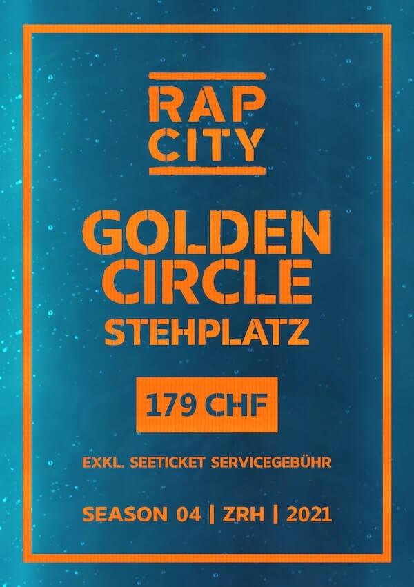 Ticket Rap City Season 04 Golden Circle
