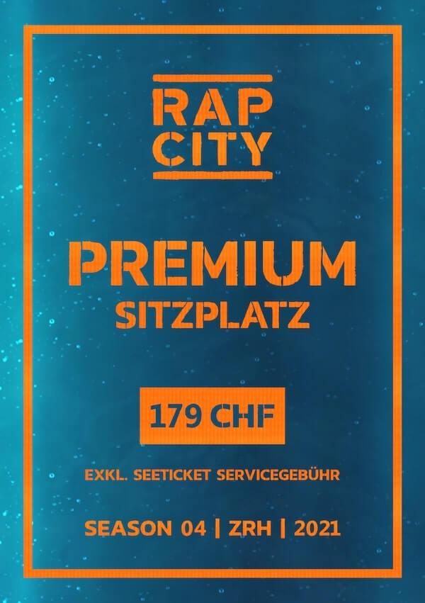 Ticket Rap City Season 04 Premium Sitzplatz
